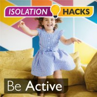 Be Active: Indoor obstacle course