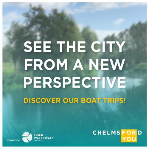 Partnering with Essex Waterways to show the city from a new perspective!