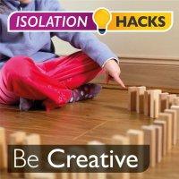 Be Creative: Dominos wall