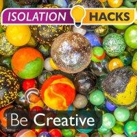 Be Creative: Marble race!